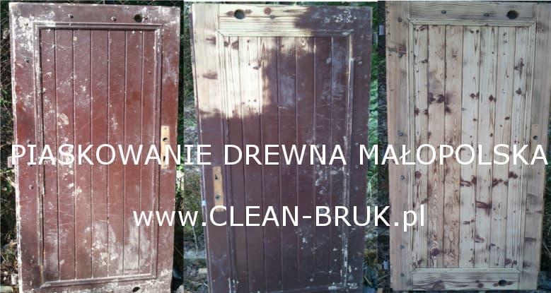 Piaskowanie Drewna Czyszczenie Kraków Małopolska